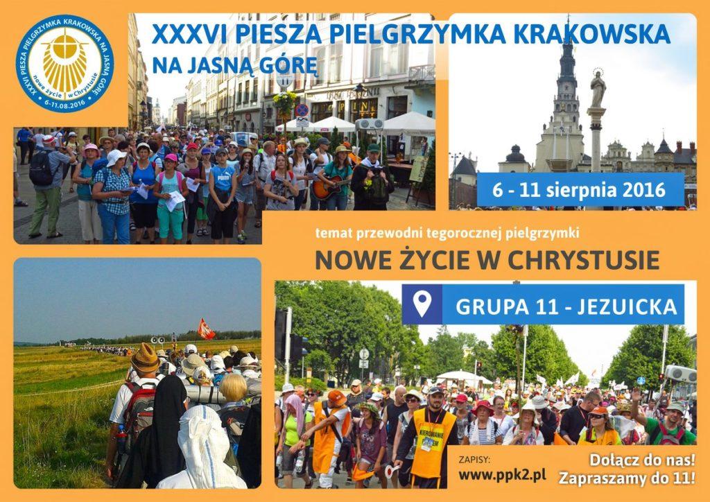 Pielgrzymka krakowskia 2016 www LR s