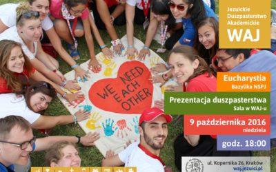 Rozpoczęcie roku akademickiego w WAJ-u (9.10.2016)
