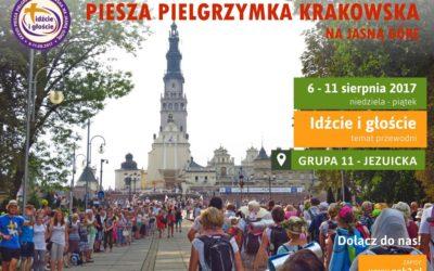 Piesza Pielgrzymka Krakowska na Jasną Górę (6-11.08.2017)
