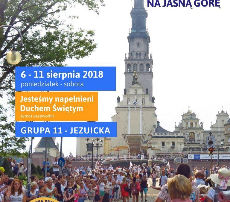 Piesza Pielgrzymka Krakowska na Jasną Górę (6-11.08.2018)