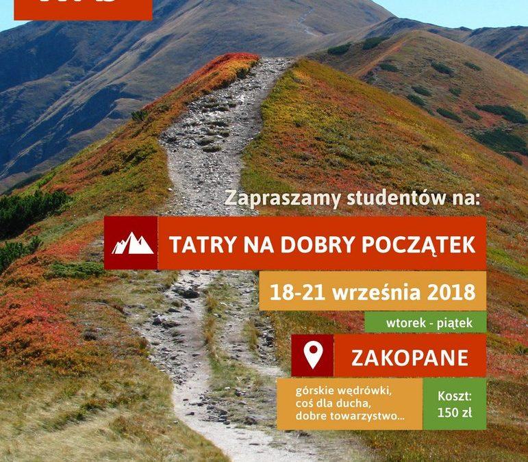 Tatry na dobry początek (18-21.09.2018)