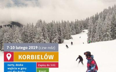 Wyjazd zimowy do Korbielowa (7-10.02.2019)