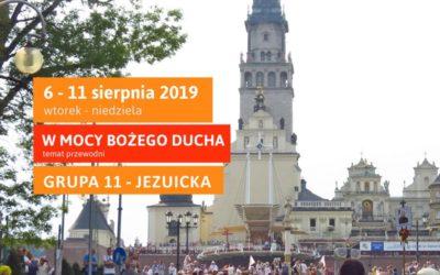 Piesza Pielgrzymka Krakowska na Jasną Górę (6-11.08.2019)