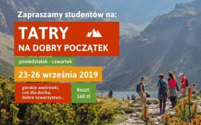 Tatry na dobry początek (23-26.09.2019)